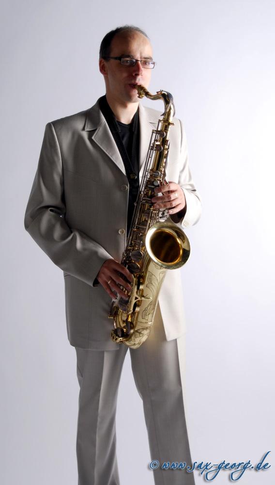 Saxofonist Georg Lehmann - Bild 01